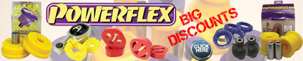 Powerflex Polyurethane Suspension Bushes